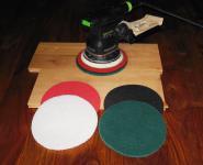 Pad für Exzenterschleifer Normalpad grün