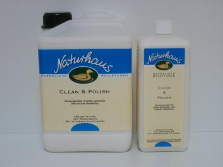 Naturhaus Clean & Polish (farblos & weiß)